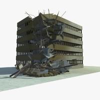 building 1 3d c4d