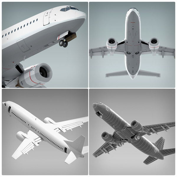 3ds boeing 737 - Boeing 737 Collection... by BlueGreen