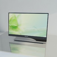 syncmaster samsung 2011 3d model