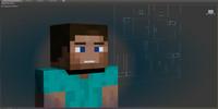 Minecraft Steve Rig
