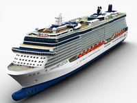 3d model solstice ship celebrity cruises