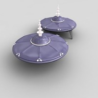 ufo spacecraft 3d 3ds