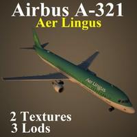 airbus ein 3d model