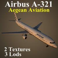3d airbus aee model