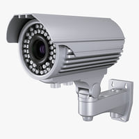 outdoor security camera 3d max
