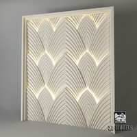 Art Deco panels