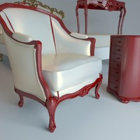 3ds max piermaria graffiti chair