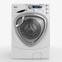 3d model of washing machine