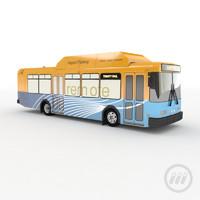 3d model bus terminal