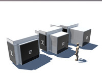 3d model transporter pod class b