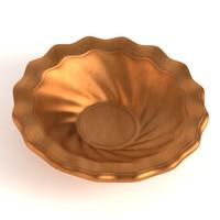 antique bowl 3d model
