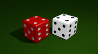 simple dice 3d 3ds