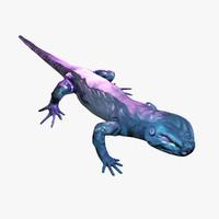 cyber lizard 3d max