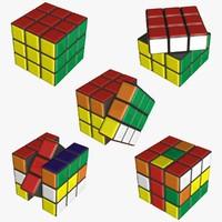 maya rubik cube
