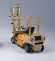 3d diesel forklift model