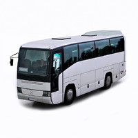 3d model of mercedes benz 0404 mini bus