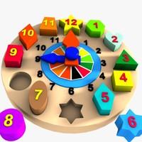 Clock Puzzle Toy 1