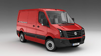 3d model volkswagen crafter