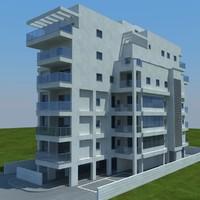 buildings 10 3d model