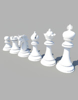chess,6 figures, standard set