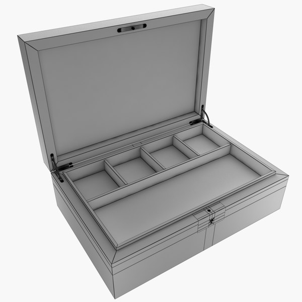 max jewellery box - Jewellery box... by The3dShed