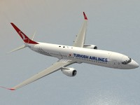 boeing 737-900 er turkish c4d