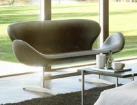 3d fritz hansen sofa