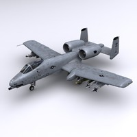 3ds max a-10 thunderbolt ii forces