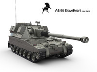 3d as-90 howitzer