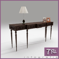 maya antique hall table classic