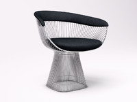 chair knoll platner obj