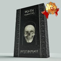 death cigarettes 3d model