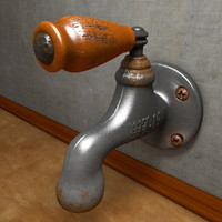 Old Rustry Faucet