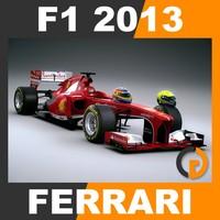 F1 2013 Ferrari F138 - Scuderia Ferrari