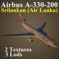 airbus alk 3d model