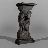 Dresden Statue Pan 08