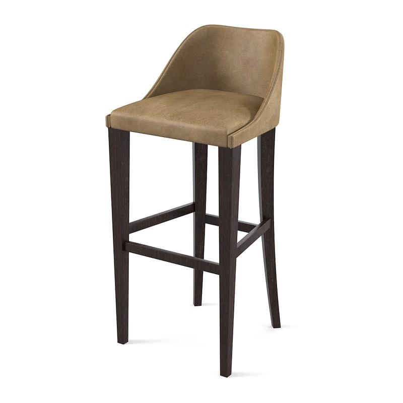 Letaher bar chair stool counter modern contemporary0001.jpg