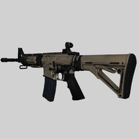 3ds max weapons m4a1 guns