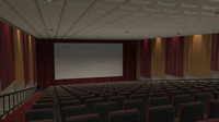 Movie Theater - Stadium Seating