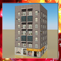 photorealistic building 22 3d model