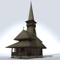 3d medieval church xvi century