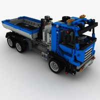 Lego Container Truck Set 8052