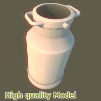 maya metal barrel