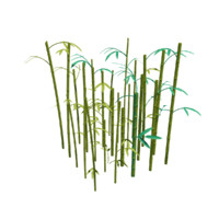 bamboo thicket 3d model