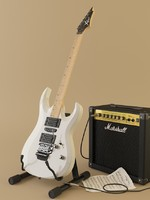 3d guitar cort sm marshal model