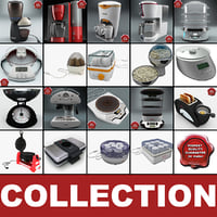 Kitchen Appliances Collection v6