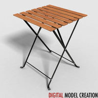 table lawn furniture 3d model