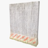 3d model concrete block