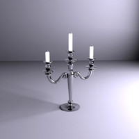 chandelier lamp light 3d model