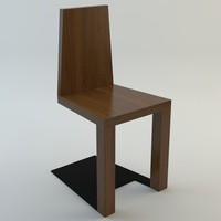 shadow chair 3d model